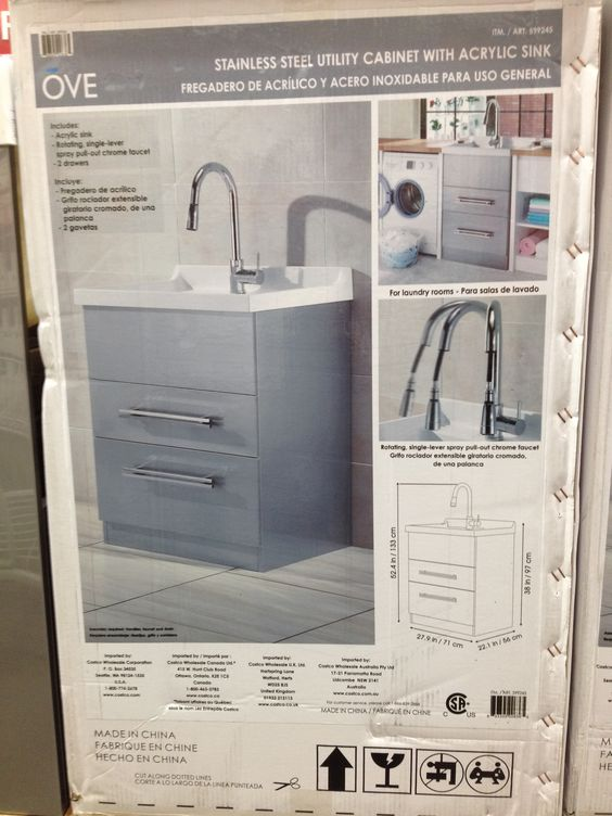 Laundry Sink Costco Asmallnation