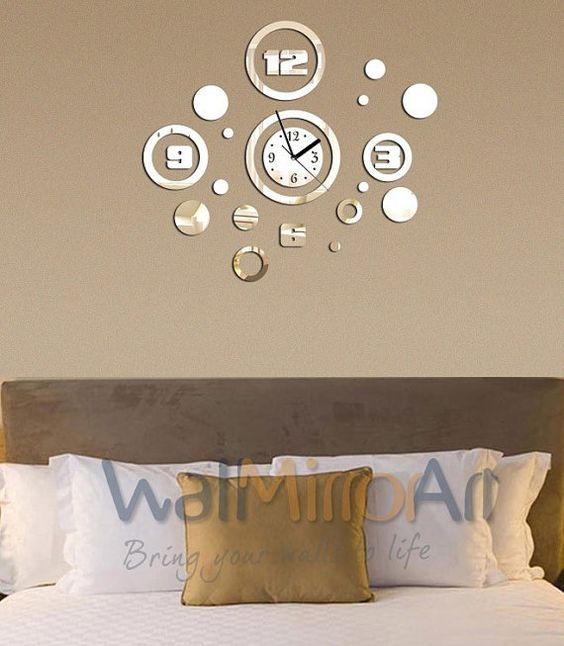 Clock For Living Room Clock Living Room Artshai Inch Wall Office - living room clock