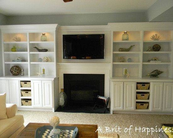 3 Creative Storage Solutions For The Family Room Shelves