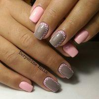 Nail Art #1196 | Grey, Manicures and Nail design