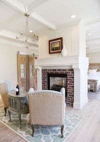 Fireplaces, House of turquoise and Worldly gray on Pinterest