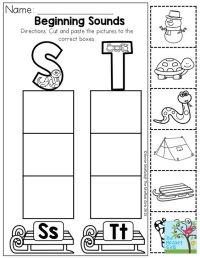 Free Worksheets  Beginning Letter Sounds Worksheets ...