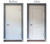 Two Panel Door Moulding Kit- Upgrade flat panel doors ...