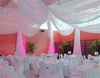 Ceiling draping, Chairs and The o'jays on Pinterest
