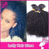 tree braids with curly kinky hair | Curly Human Hair ...