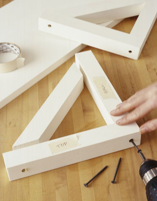 How To Make Shelves And Brackets Small Projects