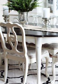 Dining room tables, Painted furniture and Room ideas on ...