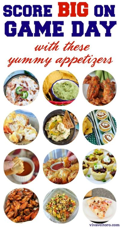 Game day appetizers, Appetizers and Finger foods on Pinterest