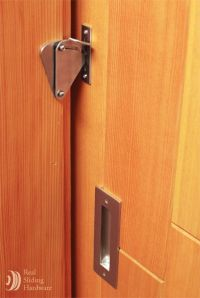 Privacy Teardrop Sliding Door Lock $44 | Bathroom ...