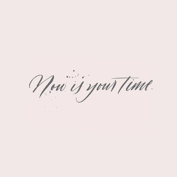 Desktop Wallpaper Minimalist Gilmore Girls Monday Freebie Quot Now Is Your Time Quot Modern Calligraphy