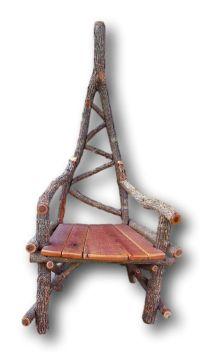 Rustic Furniture, Unique Chair, Arm chair, Sassafras Chair ...
