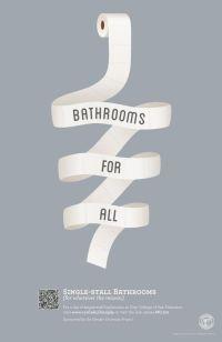 Gender-neutral Bathrooms poster by Lauren Porter, via ...