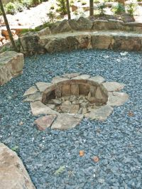 In ground fire pit, Fire pit designs and Fire pits on ...