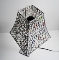 Lampshades, Pop can tabs and Pop cans on Pinterest