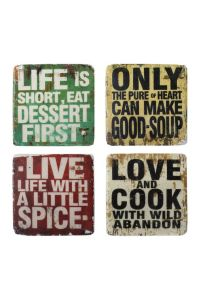 cute signs!! Great for the kitchen. | Want...Need...Love ...