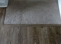An easy way to transition carpeted stairs into laminate or ...