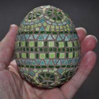 Tiny Tile Mosaic Egg Project | Mosaic Art | Pinterest ...