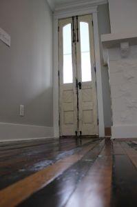 """tall, narrow doors. """"tall skinny glass""""- always better ..."""