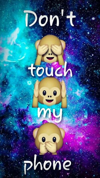Dont touch my phone emojis | Emojis | Pinterest | Emojis and Phones