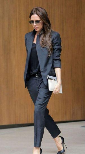 Trajes de trabajo de moda para las mujeres (2):