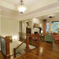 Coats, Open basement stairs and Open basement on Pinterest