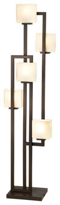 Possini Euro Lighting on the Square 5-Light Floor Lamp ...