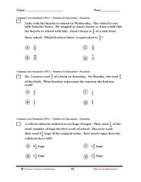 5th Grade Tennessee Common Core Math | math worksheets ...