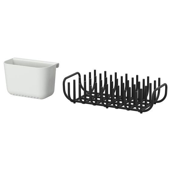 Boholmen Dish Drainer And Cutlery Basket Ikea