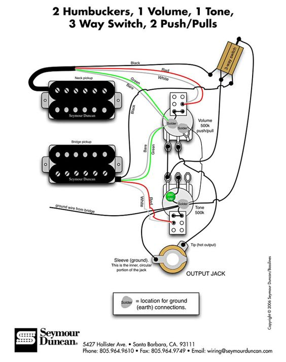 tele hh wiring diagram
