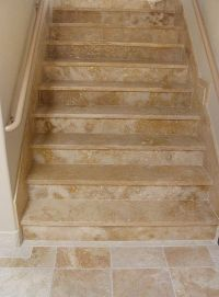 stairways flooring designs | sol Ancient Truly Tumbled ...