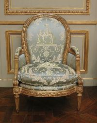 Louis XVI chair  c.1770-1775   MOMA b   ~*~Antique ...