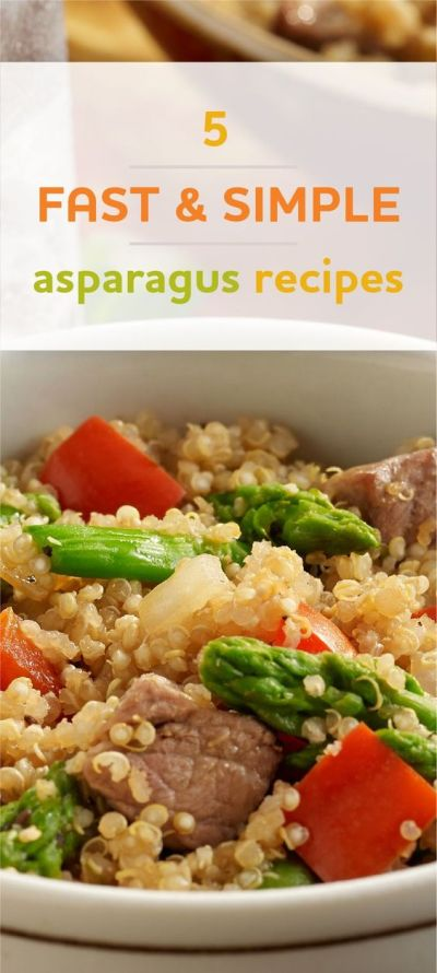 5 deliciously simple and quick asparagus recipes for any weeknight dinner   Easy Weeknight ...