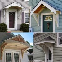 Builiding a Portico | - New Look for My Home | Pinterest ...