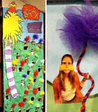 dr seuss teacher appreciation | The Lorax Hallway ...