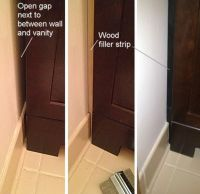 How to Easily Replace and Install a Bathroom Vanity | Wall ...