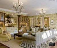Country French sectional sofa | Family room Ideas ...