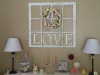 Window frame crafts, Old wood windows and Wood windows on ...
