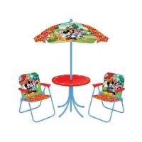 Kids Patio Set Disney Chairs Umbrella Table Washable ...