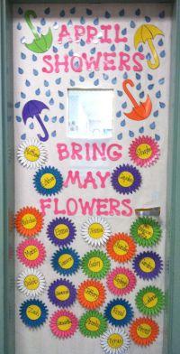 classroom door decorating idea for april/may   Pre-K ...
