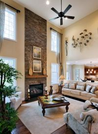 I LOVE 2 story living rooms | My Dream Home Decor ...