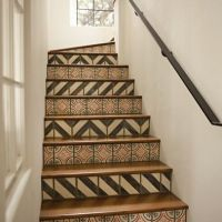 Designs For Stair Risers | Stair Riser Tiles Design Ideas ...