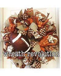 Hook em horns Texas wreath   CraftOutlet.com Photo Contest ...
