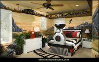 train theme bedroom ideas-transportation bedroom ...