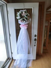Bridal Shower door decoration   Stuff I want to make ...