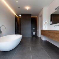 Eine freistehende #Badewanne im Ei-Design bringt in den ...