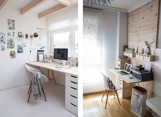 Ikea office inspiration, scandinavian interior design