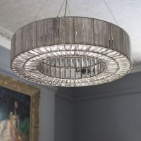 Silver ring statement ceiling light | CTD Project ...