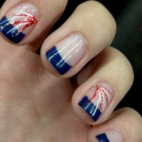 My fourth of July nails! :) | Fourth of July | Patriotic ...