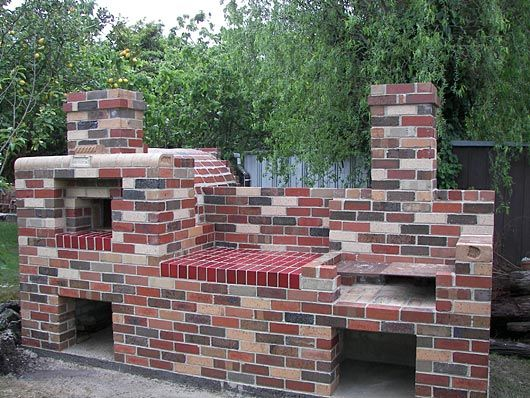 Brick Pizza Oven And Grill Combo Fire Pits And Outdoor