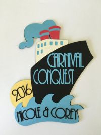Fun door decoration for your next cruise! **WARNING** It ...